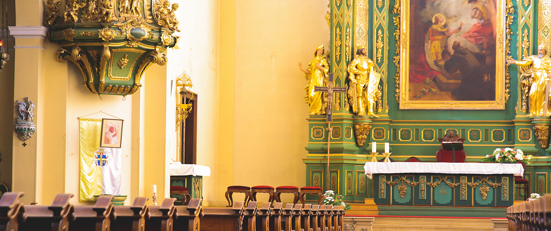 Szent Imre templom oltár