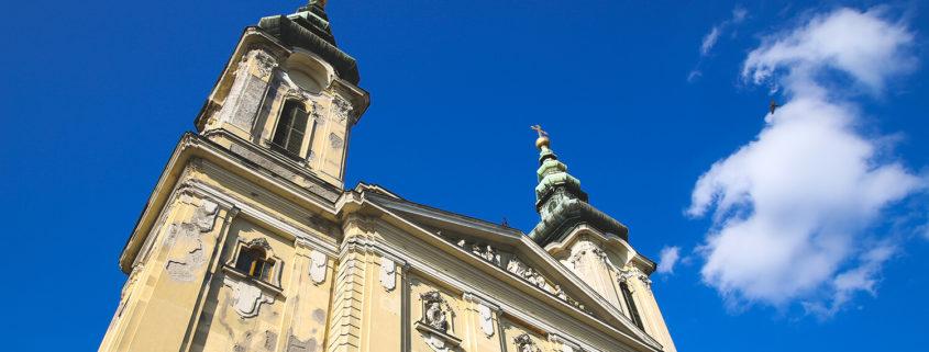 Szentimrevárosi - Szent Imre plébánia - templomtorony