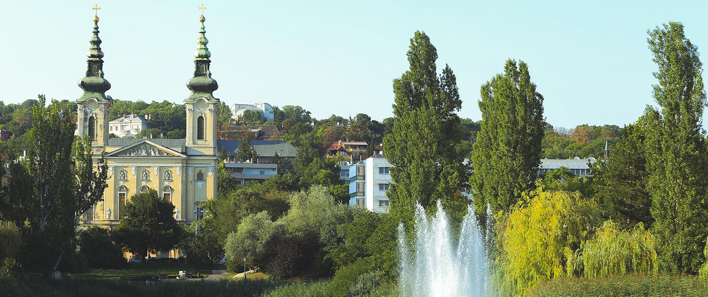 Szent Imre templom és környéke