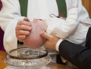 Keresztelés a Szent Imre plébánián