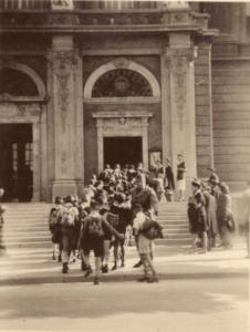 Cserkészcsapat - régi fotó